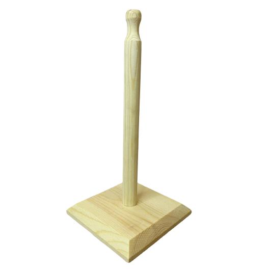 Porta papel toalha em bambu
