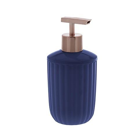 Porta sabonete líquido Canelatta azul marinho