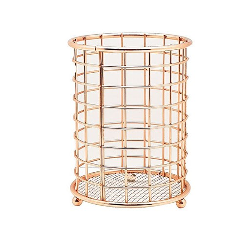 PORTA TALHERES ROSE GOLD