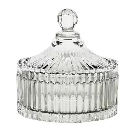Potiche de cristal Carousel Lyor 9,2 cm