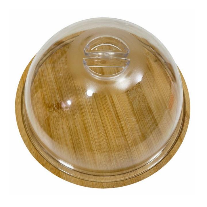 Prato para queijo com cúpula 23,5 cm