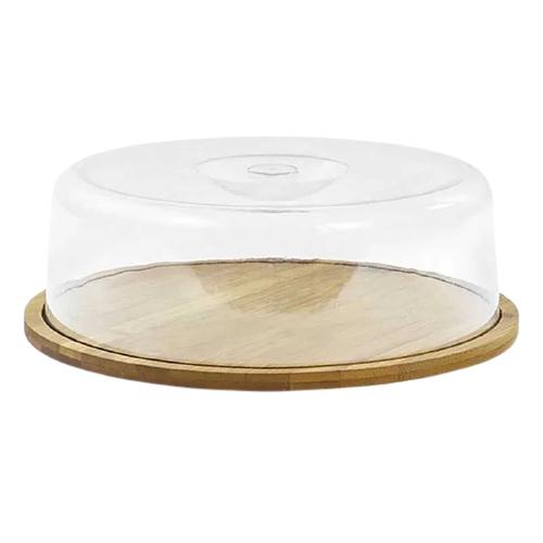 Prato para queijo com cúpula 28 cm
