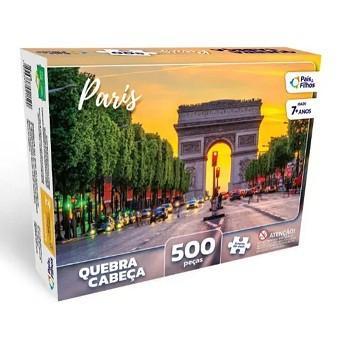 QUEBRA CABEÇA 500 PEÇAS - PARIS