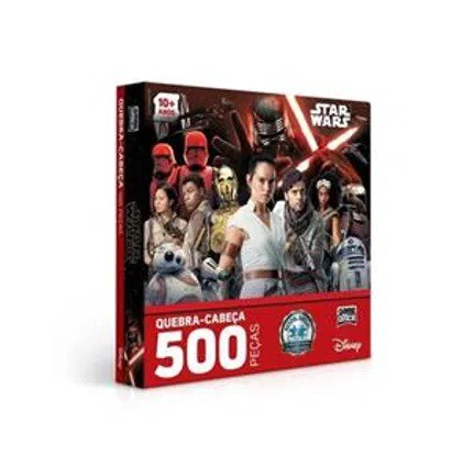 QUEBRA CABEÇA 500 PEÇAS - STAR WARS 2669