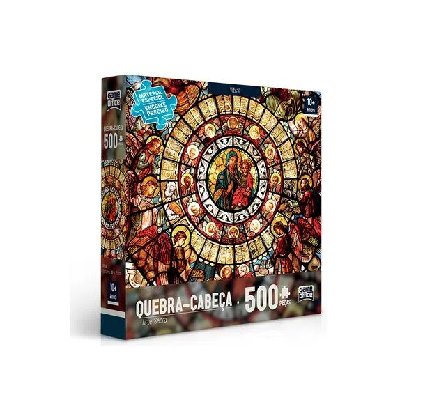 QUEBRA CABEÇA 500 PEÇAS - VITRAL 2423