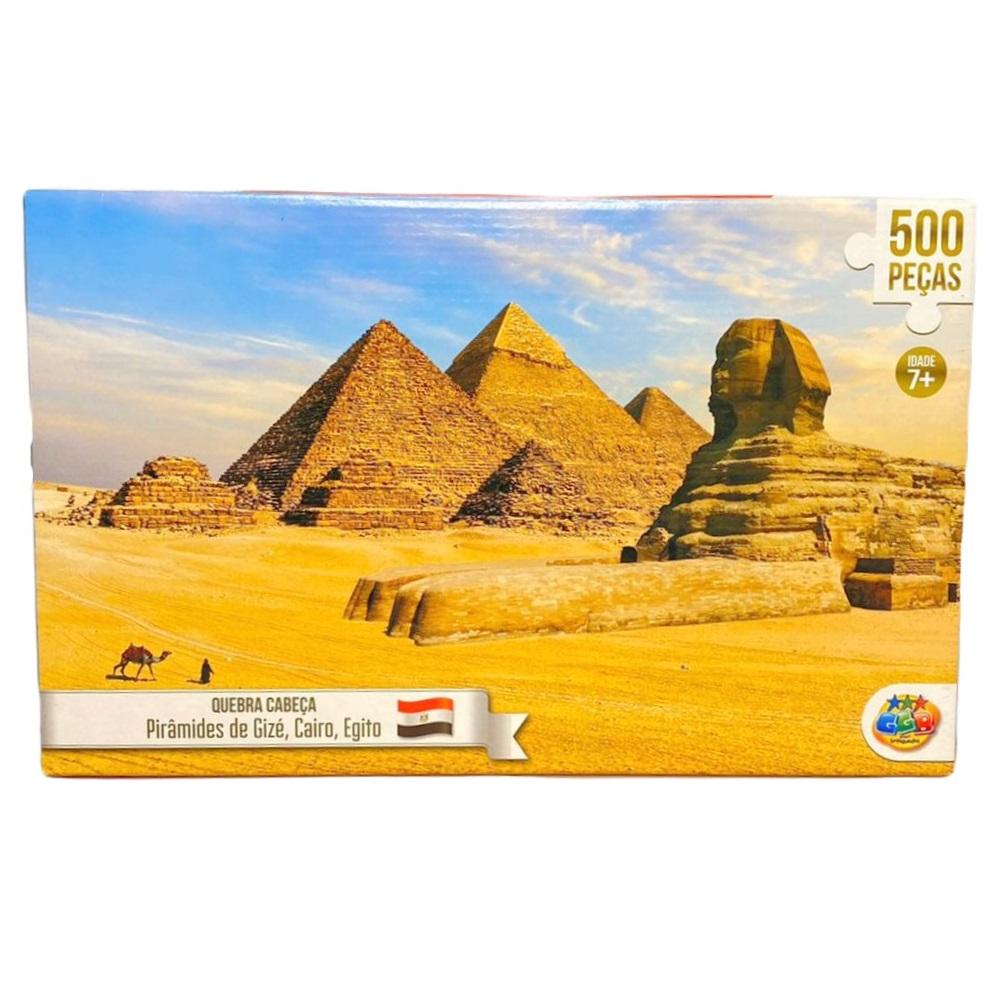 QUEBRA-CABEÇA EGITO 500 PEÇAS