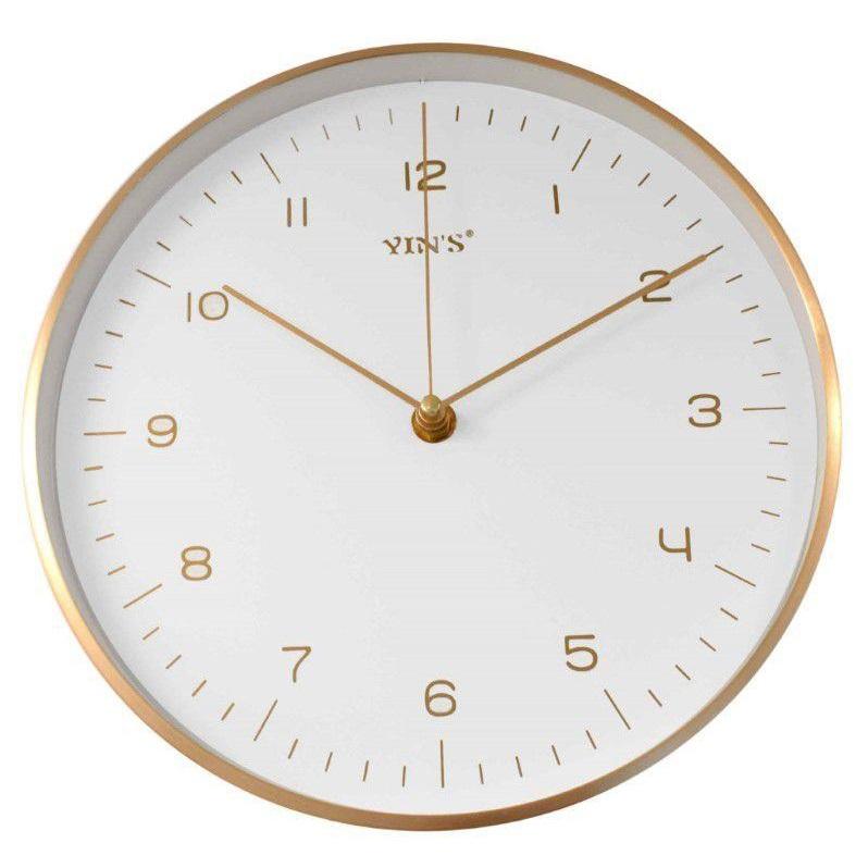 Relógio de parede colorido 24,8 cm