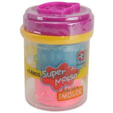 SUPER MASSA POTE COM MOLDE