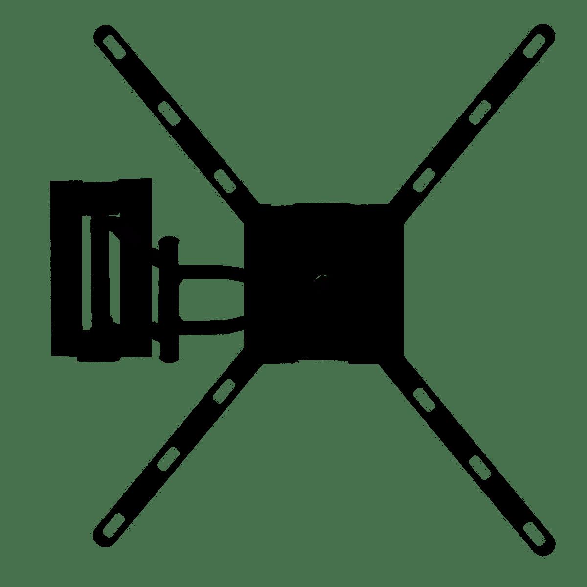 SUPORTE ARTICULADO TVS  10''- 55'' SU-450I
