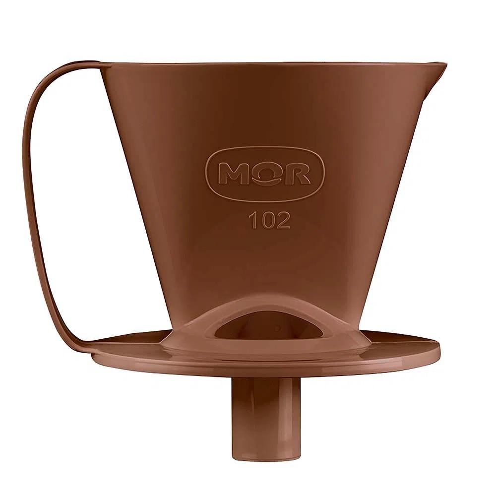 SUPORTE PARA COADOR DE CAFÉ 102 MARROM