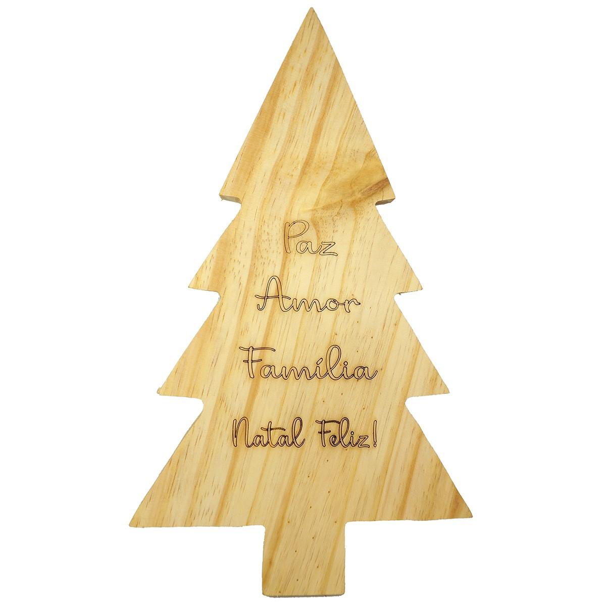 Tábua árvore de Natal 36 cm