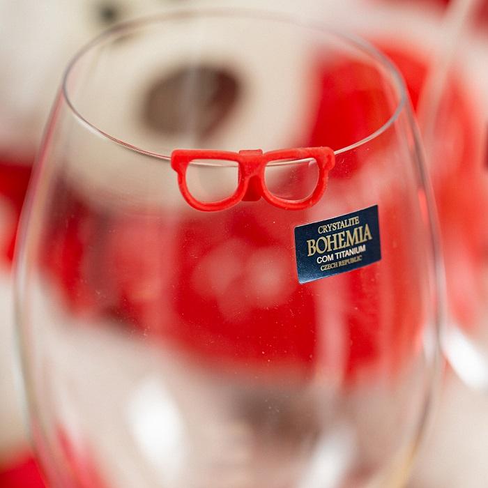 Taça de cristal Bohemia para vinho 450 ml