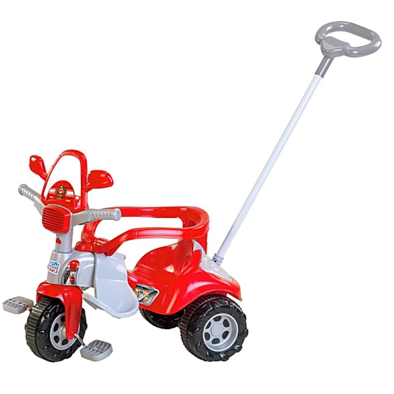 Triciclo Tico Tico Bombeiro com capacete