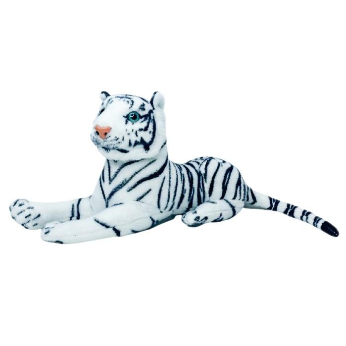 Tigre branco de pelúcia