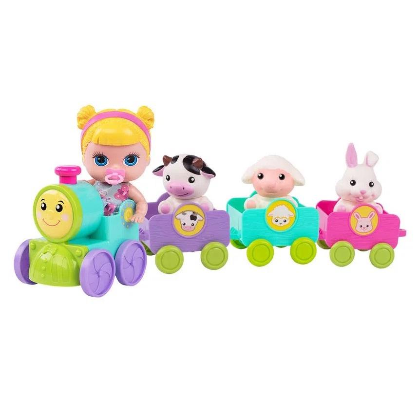 Boneca Lil Cutesies e amigos - Trenzinho