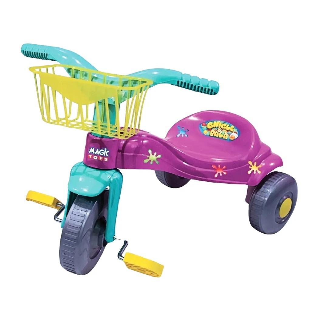 Triciclo Tico Tico Bala com cesta