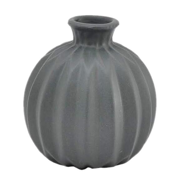 Vaso decorativo em porcelana fosca 8,5 cm