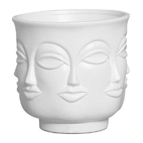 Vaso decorativo Rostos 11,5 cm