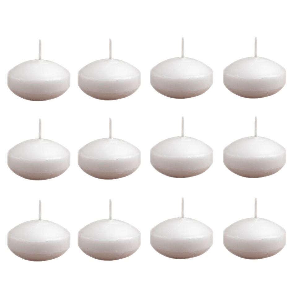 Vela decorativa flutuante 12 peças