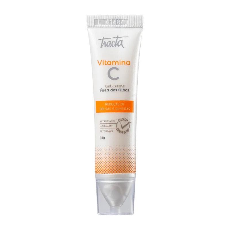 Vitamina C gel creme para a área dos olhos