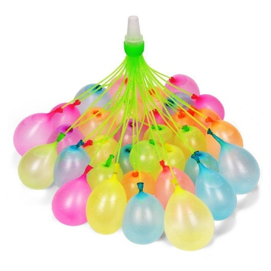 Balões de água Water Balloons com 37 varetas