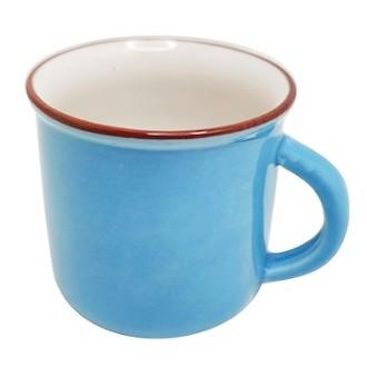 Xícara de porcelana colorida 30 ml