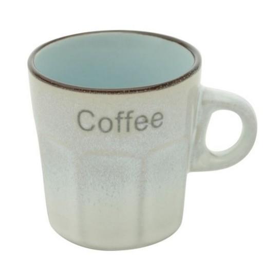 Conjunto 6 xícaras de porcelana para café Allure 100 ml