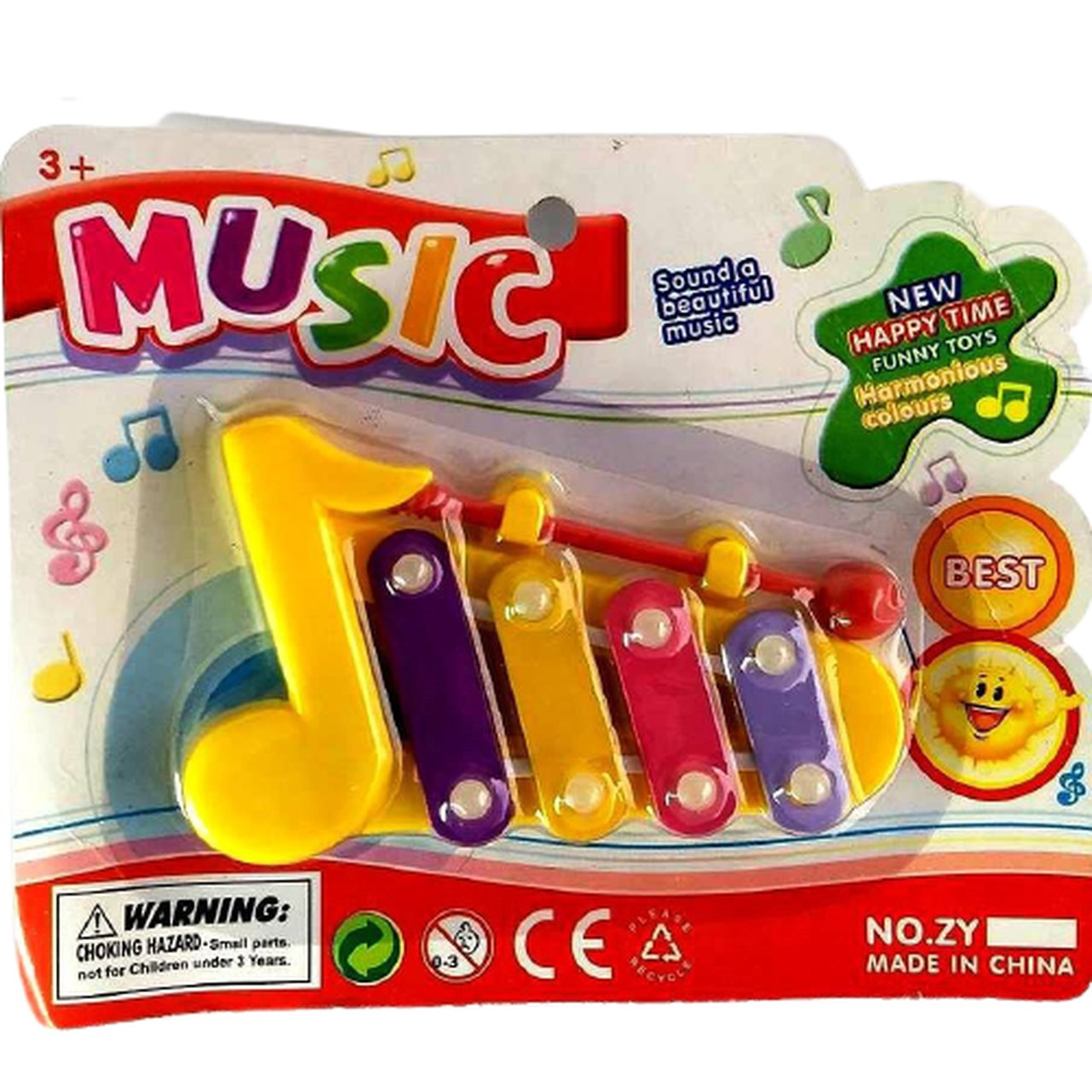 MINI XILOFONE MUSICAL INFANTIL