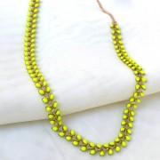 Colar neon em resina (item único) - Coleção Pedrarias