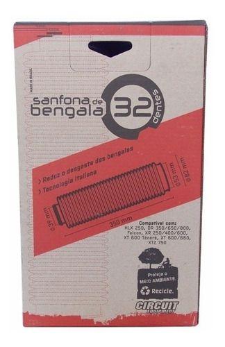 Sanfona De Bengala 32 Dentes Falcon Xre Tenere Xt