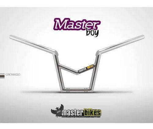 Guidao Master Boy Titan/ybr Motoboy C/ Barra Cromado