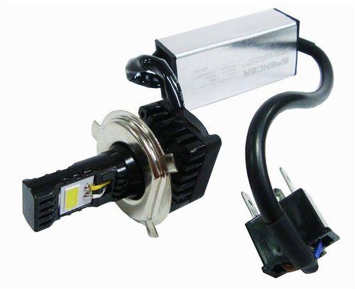 Lâmpada Farol Moto H4/h6 12v 12-30v 2 Leds