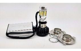 Lampada Farol Moto Led H4/h6 12v 16w/24w Spencer 3 Leds