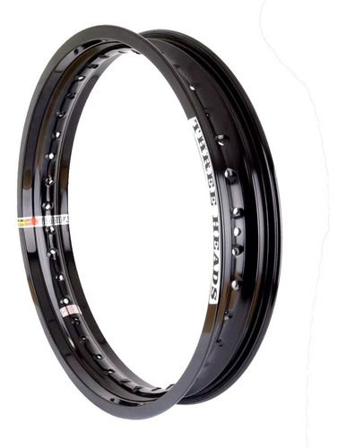 Par Aro Aluminio Preto 1.85 X 18 Three Heads Cg Titan Ybr
