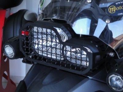 Protetor De Farol Gradeado Bmw F 650 Gs / F 700 Gs / F 800gs