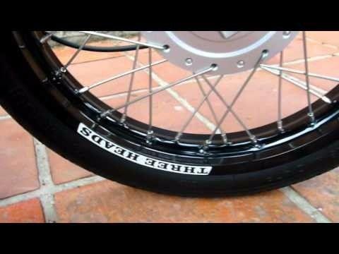 Aro Roda Aluminio Preto 2.50 - 17 Bros xre 190