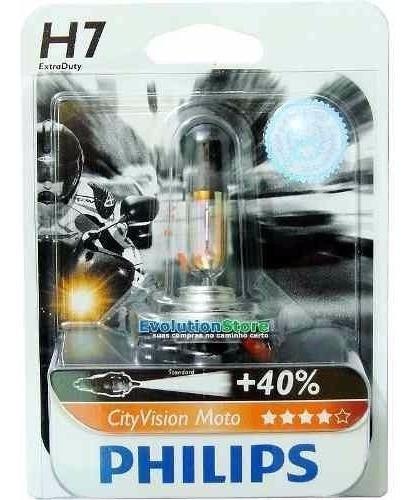 Lampada Farol H7 City Vision Moto Hornet Cb 1000