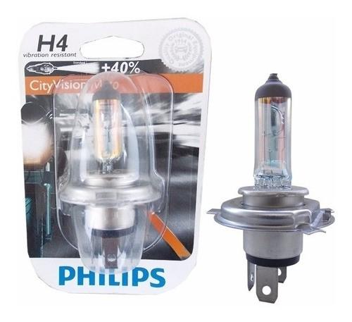 Lampada Farol H4 12v 35w City Vision Moto