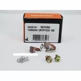 Escova Motor Arranque Reparo Yamaha Crypton 105