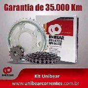 Kit Relação Twister + Disco Freio/lona Pedal Cambio Retentor