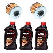 3l Oleo Yamalub 4t 20w50 + 2 Filtro Fazer Lander Tenere 250