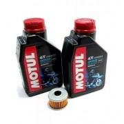 3l Oleo 20w50 + 1 Filtro Oleo Cbr 250