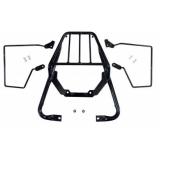 Bagageiro Honda Nx4 Falcon Com Afastador Alforge Chapam