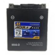 Bateria Moura Ma6-d Fazer Lander Cb 300 Twister Lead