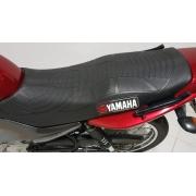 Capa Banco Moto Esportiva Ybr + Piscas + Engrenagem Veloc