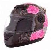 Capacete Feminino Pro Tork Evolution G5 Just Live Rosa