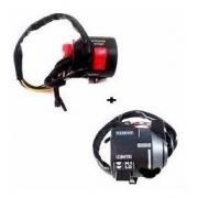 Conjunto Interruptor Partida Direito E Esquerdo Cbx Strada