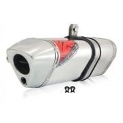 Escape Ponteira Trs 2 Way Aluminio Fazer 250 09-15