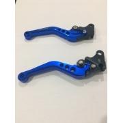 Manete Esportiva Spencer Bros 125/150 Ks Xlr125 Xl Azul