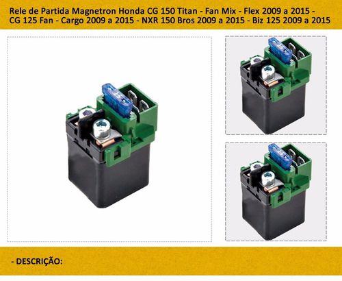 Rele De Partida Titan 150 Mix Bros Mix Bz 125 2009